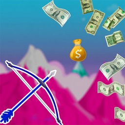 Dollar & Coins Archery Shooter