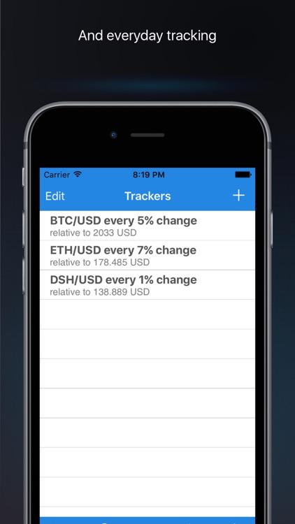BTC bitcoin price alerts screenshot-3