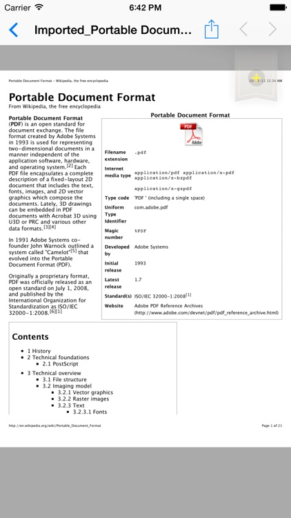 PDF Reader P.r.o. screenshot-2