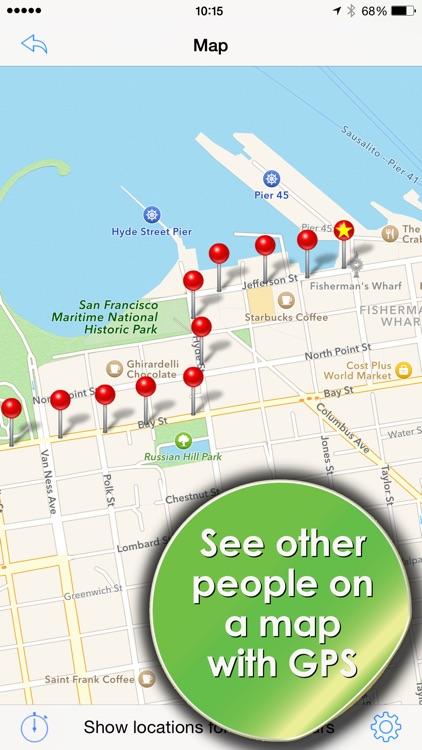 Phone Tracker for iPhones: GPS screenshot-3