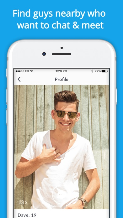Gay Dating - Hookup & Chat App