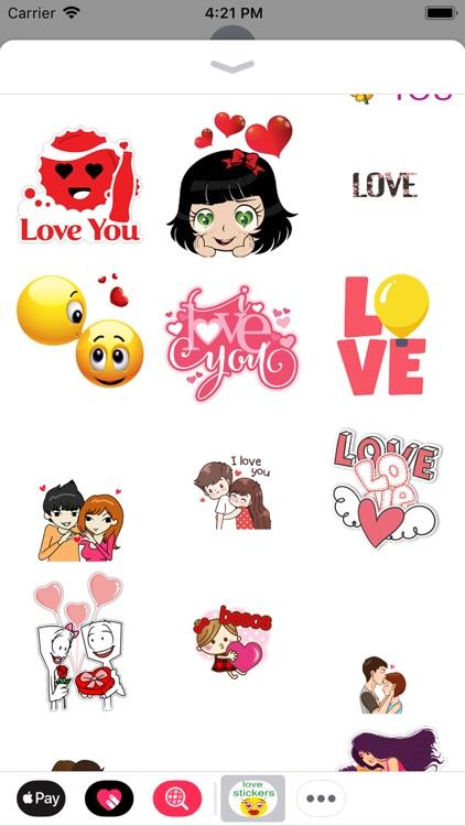 love you stickers screenshot-8