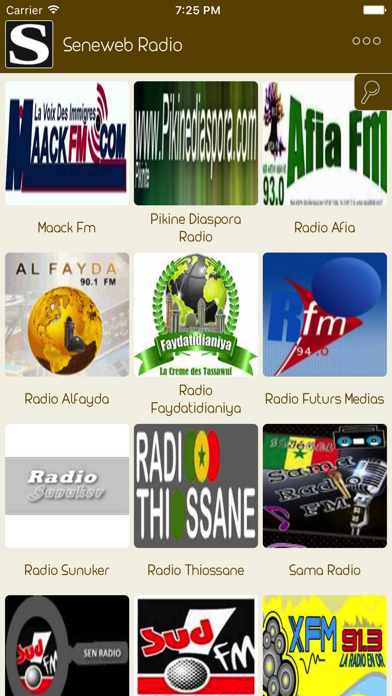 Live Senegal Radio Stations screenshot one