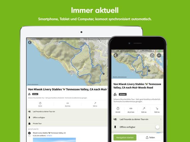 Komoot — Fahrrad & Wander Navi Screenshot
