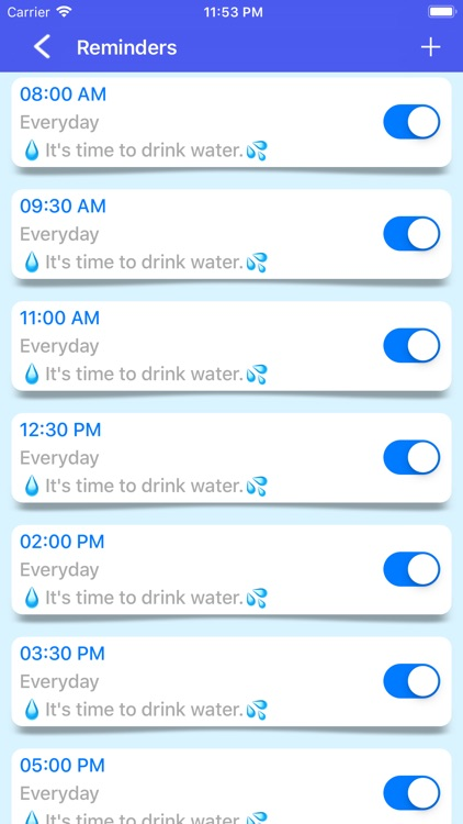 Drink Water Tracker & Reminder screenshot-6