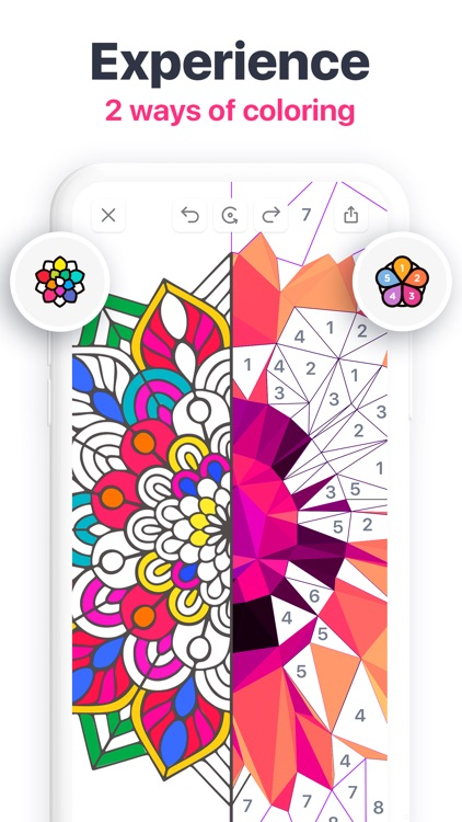 Tap & Color - Coloring book