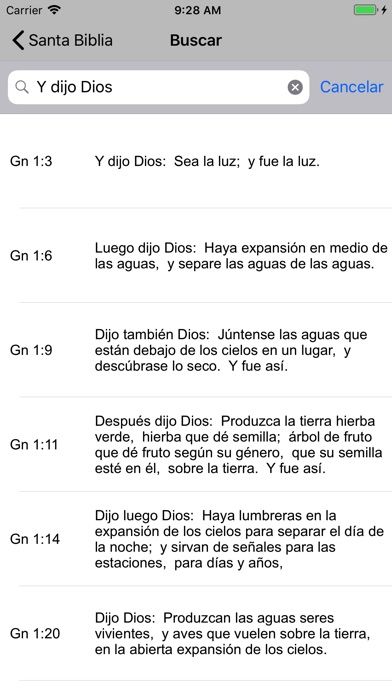 Screenshot for Santa Biblia Reina in United States App Store
