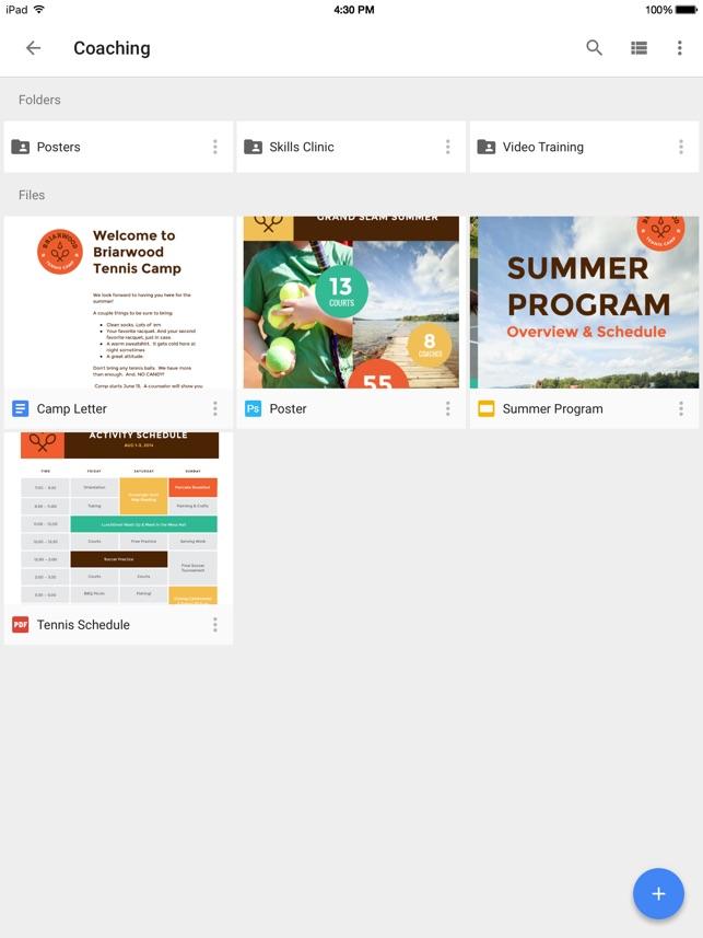Google Drive – stockage Capture d'écran