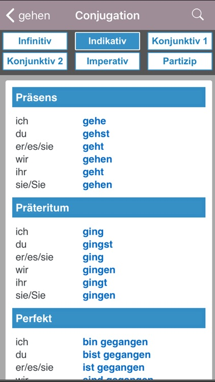 English-German Larousse screenshot-2