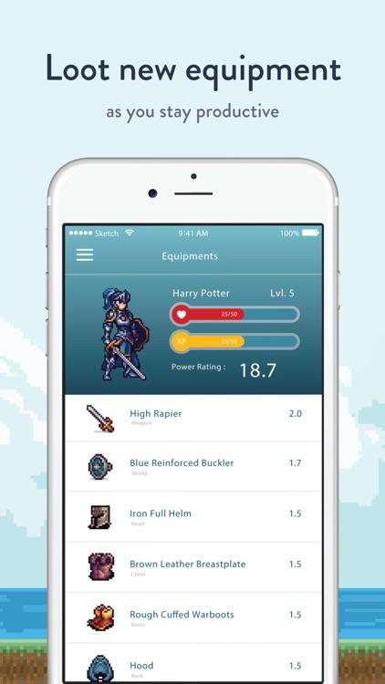 Bounty Tasker: To-do List RPG screenshot-4