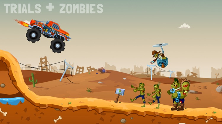 Zombie Road Trip Trials screenshot-0