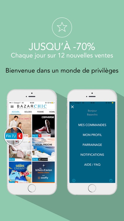 BazarChic, ventes privées mode screenshot-0