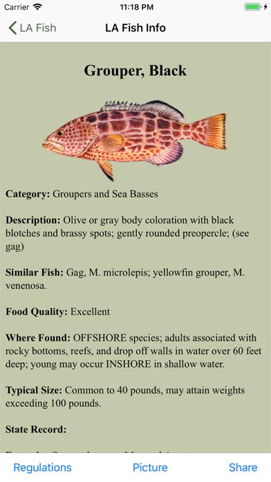 GA Saltwater Fishing Companion Screenshot