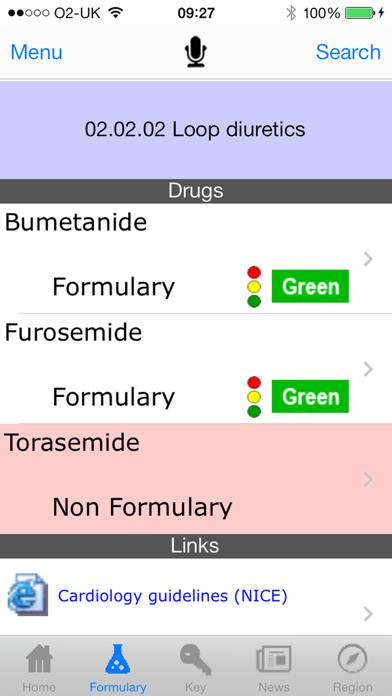netFormulary screenshot one
