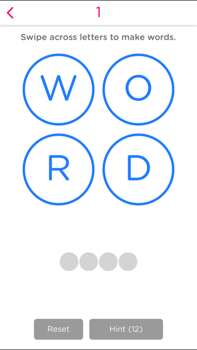 Word Circles! screenshot one
