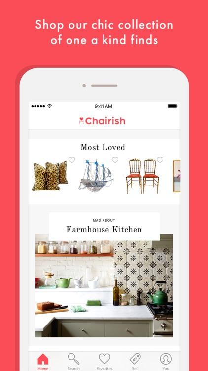 Chairish Buy & Sell Home Decor