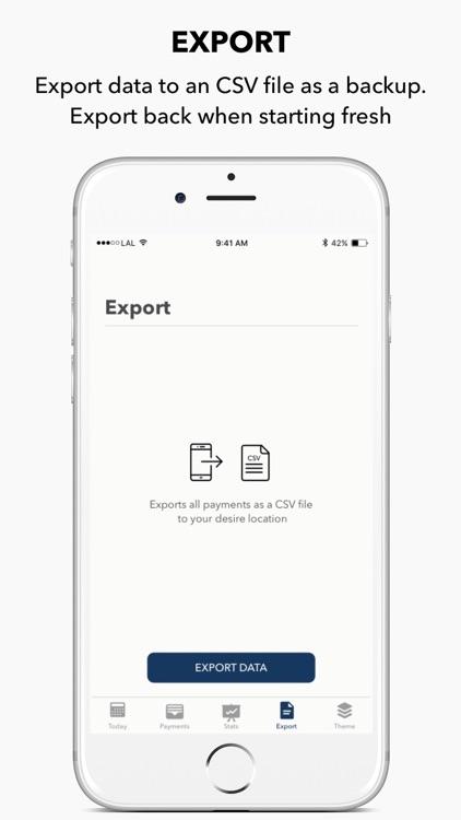 Lemon - Payments tracking screenshot-3