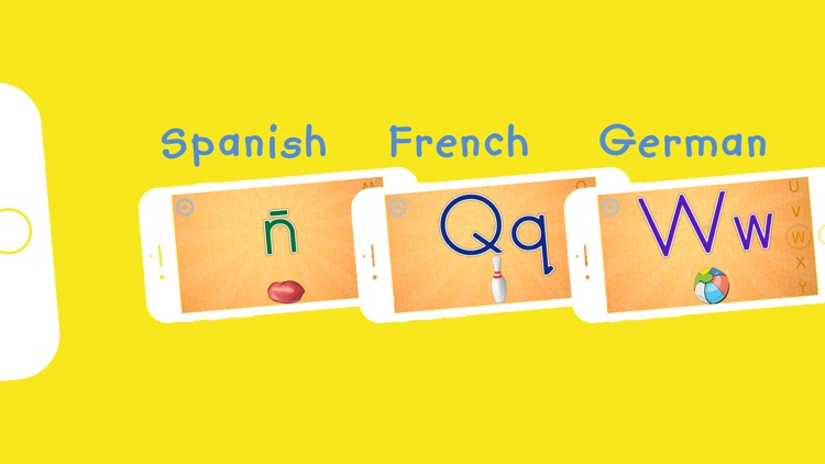 Kids' First English Alphabet