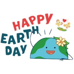 Happy Earth Day Sticker