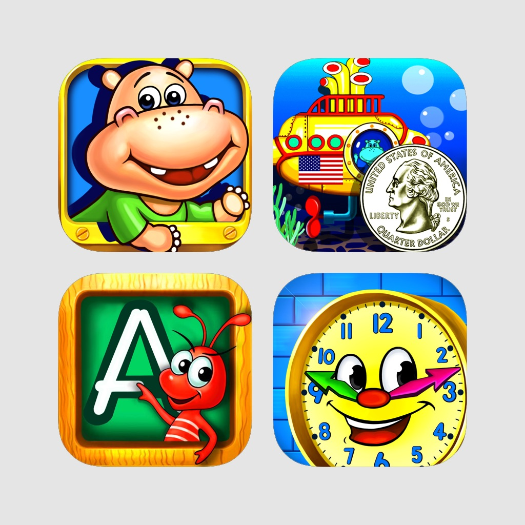 Learning Games for Kids ages 3-8