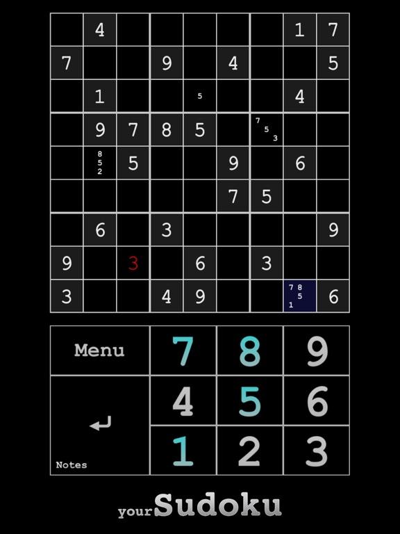 yourSudoku - Over 10k sudoku screenshot 6