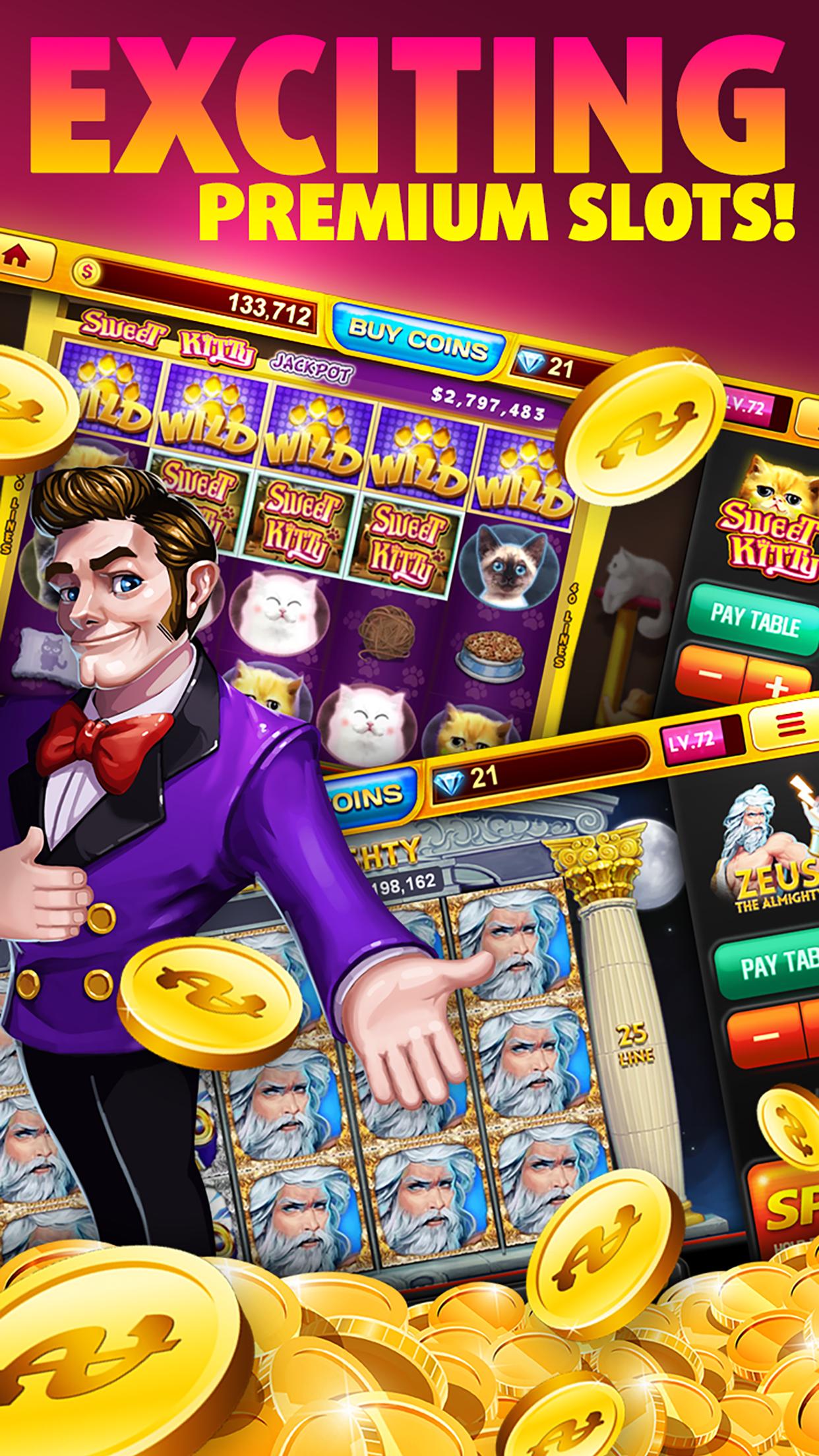 Real Casino Slots Screenshot