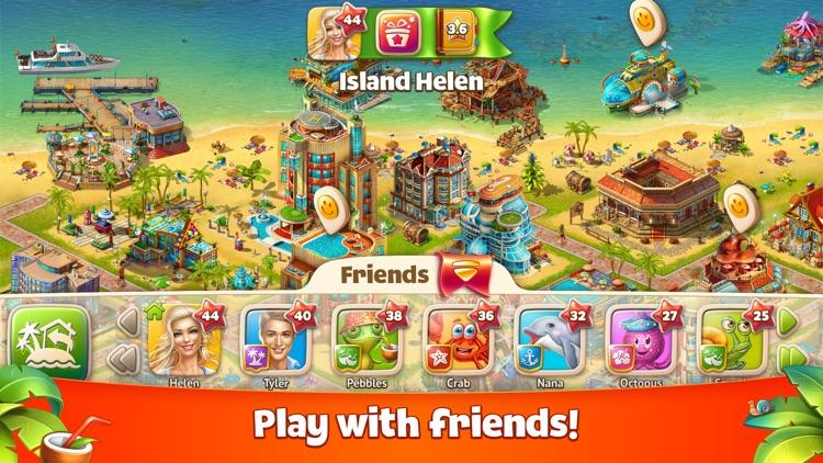 Paradise Island 2: Build your city on the beach. screenshot-4