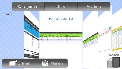 Vorlagen für NumbersScreenshot von 3
