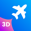 pinkfroot limited - Plane Finder 3D artwork