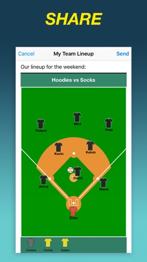 Team Lineup Basic On The App Store