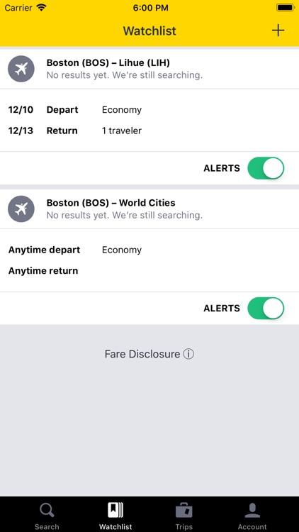 Cheapflights Flights & Hotels screenshot-4