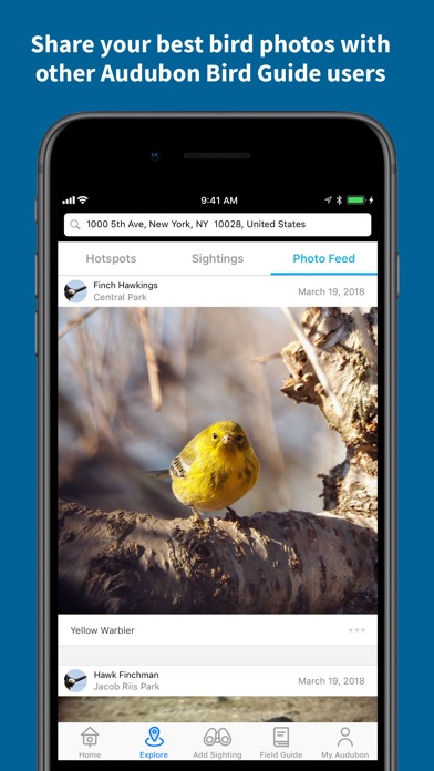 Screenshot for Audubon Bird Guide in United States App Store