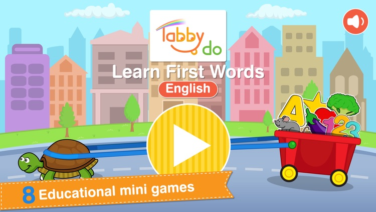 Tabbydo Learn First Words in English screenshot-3