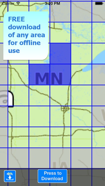 Aqua Map Minnesota Lakes HD screenshot-5