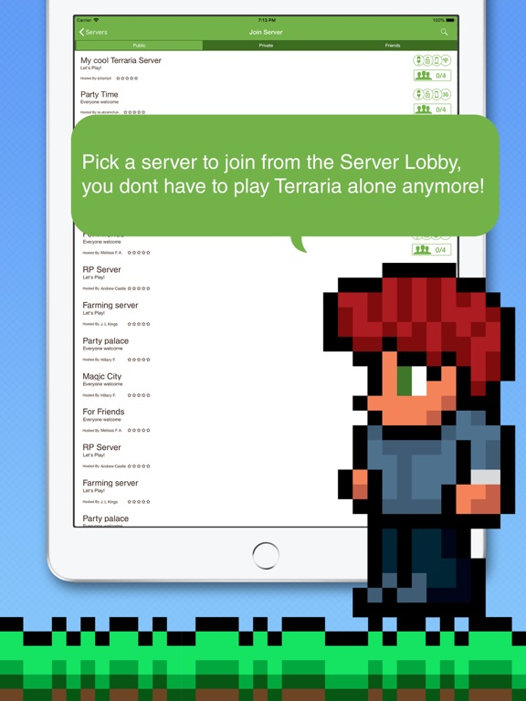 Multiplayer PE for Terraria | App Price Drops