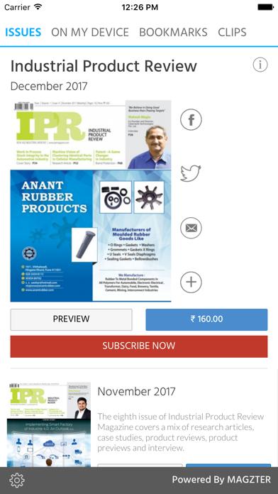Industrial Product ReviewScreenshot of 1