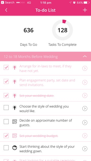 Wedding planner easyweddings on the app store wedding planner easyweddings on the app store junglespirit Choice Image