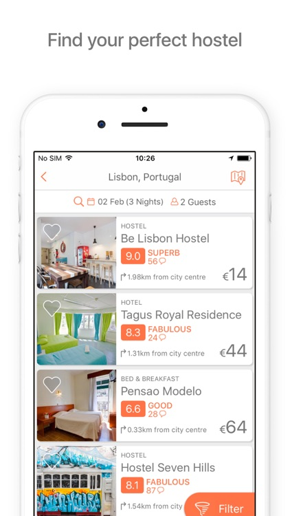 Hostelworld: Hostels & Hotels screenshot-1