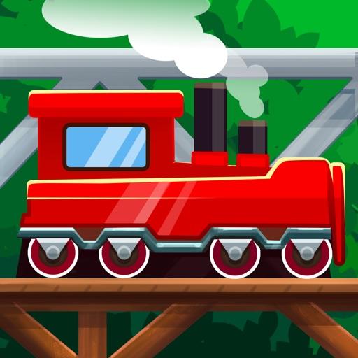 橋・作り 2: 電車