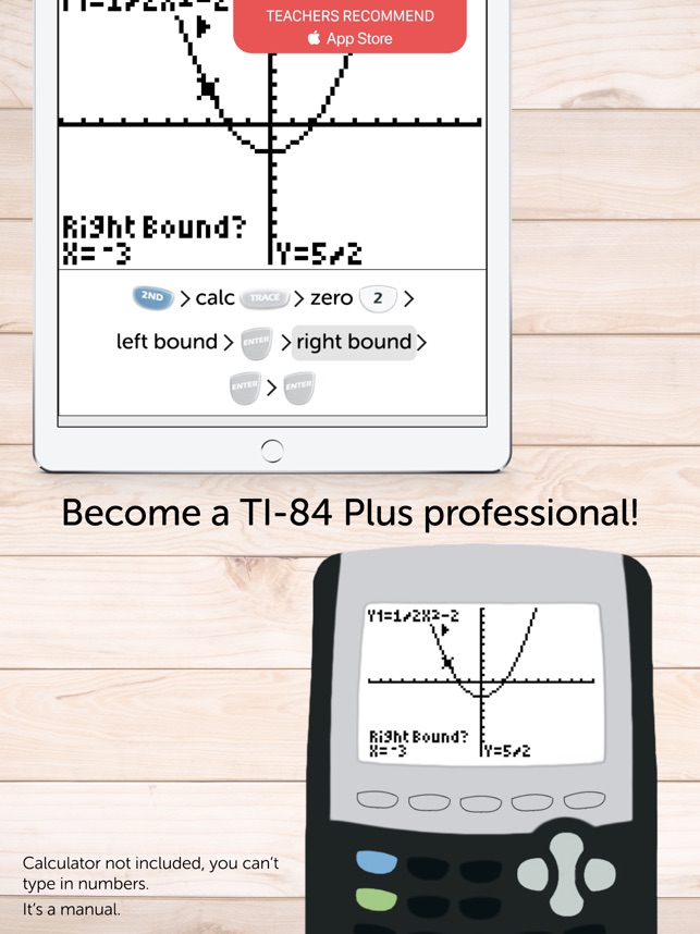 Ti 84 Plus Graphing Calculator Manual On The App Store
