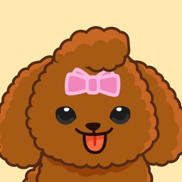 Bella The Princess Poodle Sticker