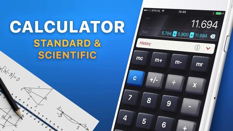 Calculator HD screenshot-0