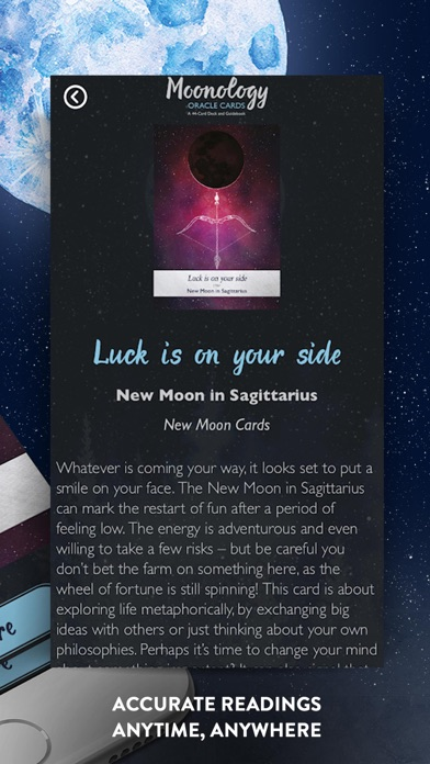 Moonology Oracle Cards screenshot 5