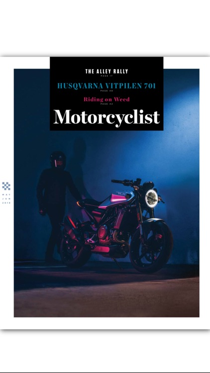 Motorcyclist Mag screenshot-0