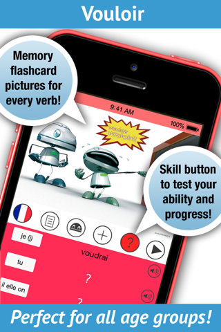 French Verbs Pro - LearnBots - náhled