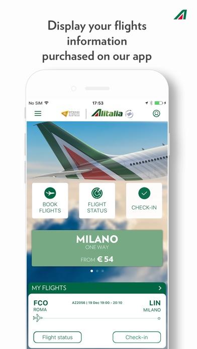 Alitalia iPhone