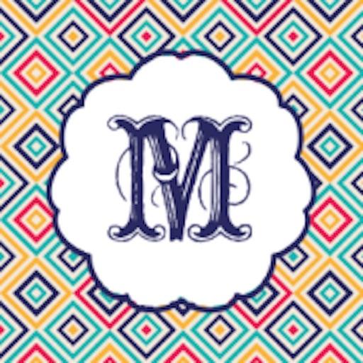 Monogram Wallpapers & Pattern