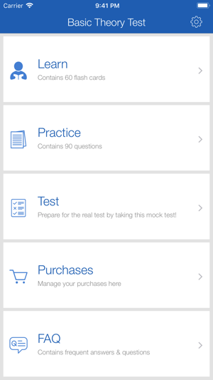 Basic Theory Test (BTT SG) on the App Store
