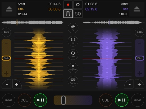 DJ DEX - The DJ Mixing App Screenshots