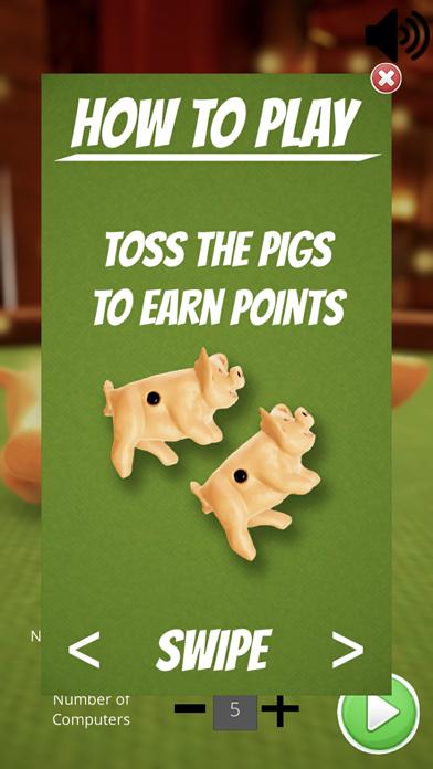 Toss the Pigs - Fun Dice Game screenshot three